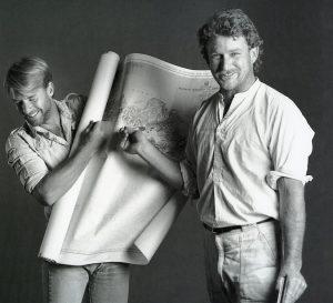 Craig and Kevin, circa 1980