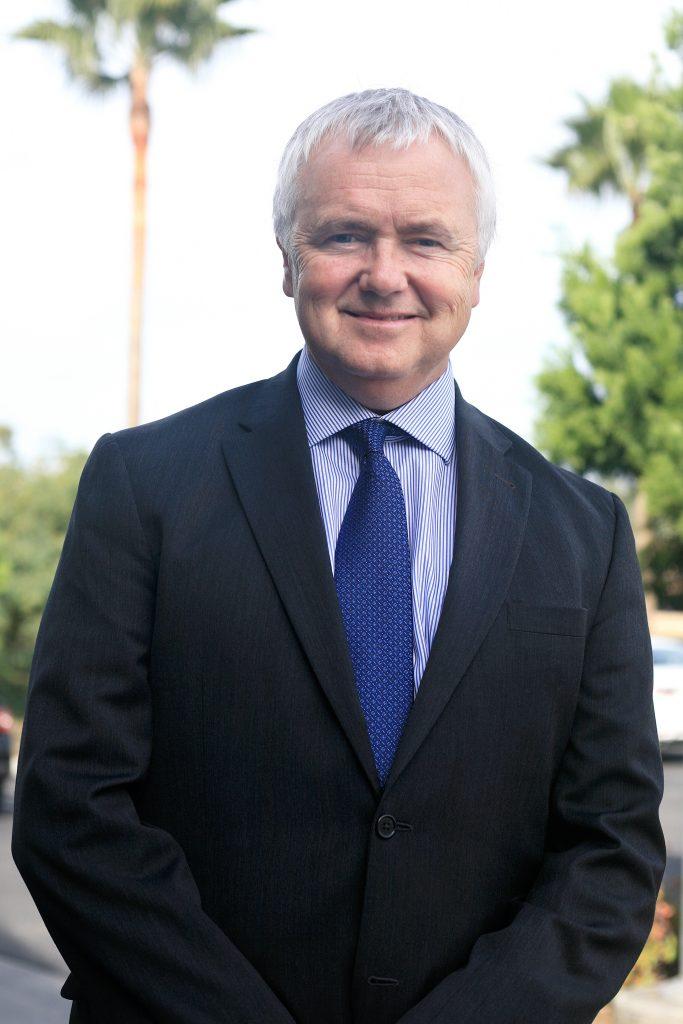 California Earthquake Authority CEO Glenn Pomeroy in Newport Beach. — Photo by Sara Hall ©