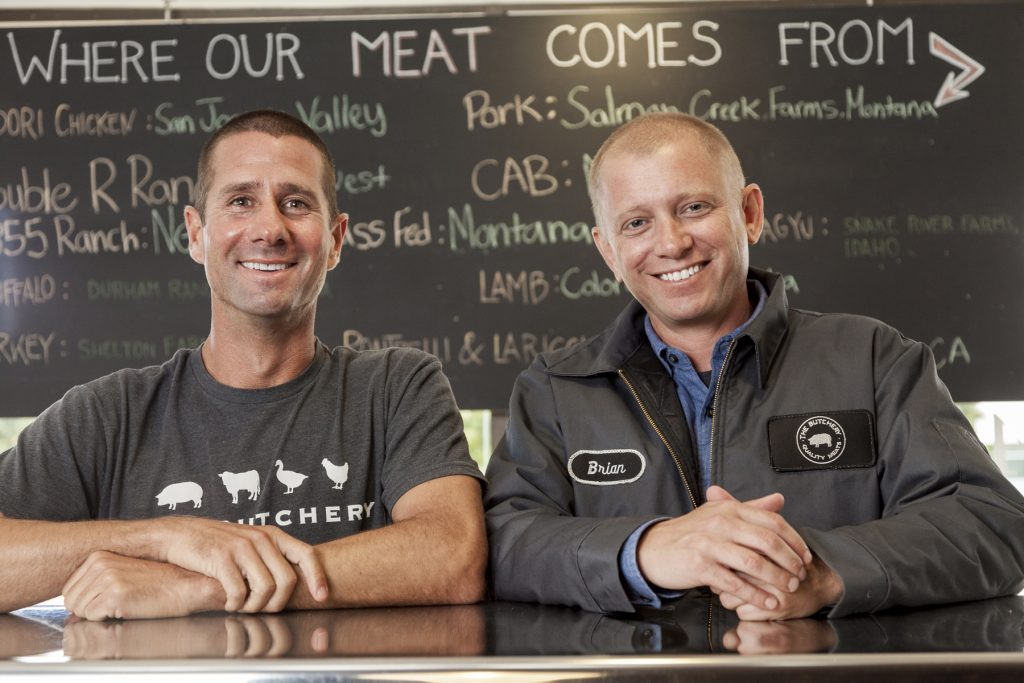Butchery owners Robert Hagopian and Brian Smith. — Photo courtesy of Butchery ©