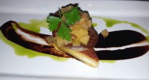 Foie gras at The Winery