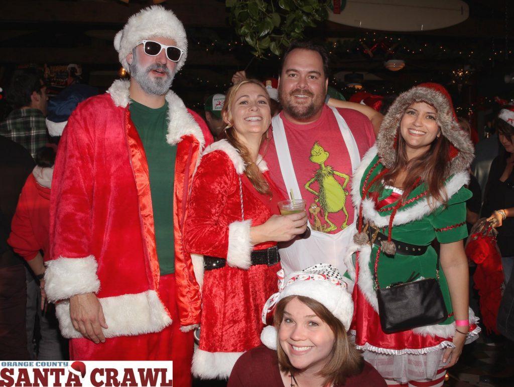 OC Santa Crawl Participants from 2015.  — Photo courtesy of Expo 4 Life ©