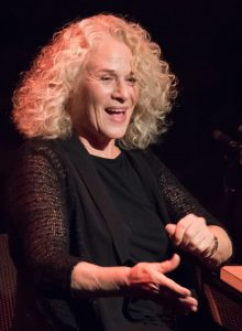 Carole King performing at the Candlelight Concert