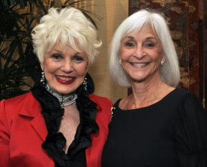 Christmas at the Ritz Chair Donna Bunce with Women of Chapman President Barbara Eidson
