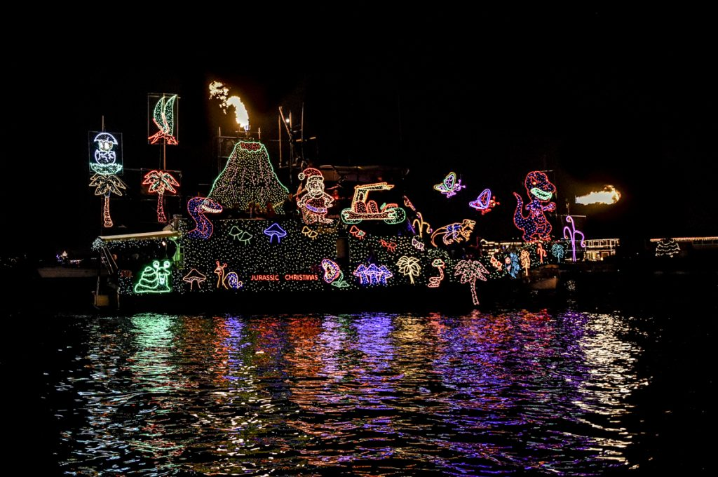 Boat Parade. Photo by Lawrencce Sherwin
