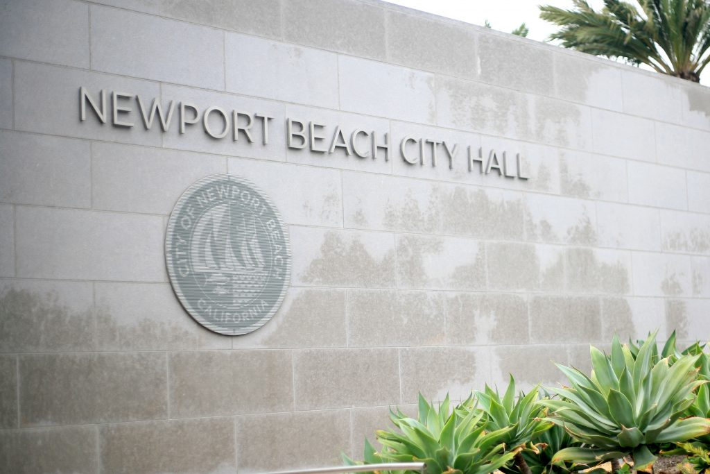 Newport Beach city hall. — Photo by Sara Hall ©