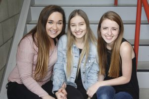 Olivia Rybus, Kat Long, Lauren Lyons