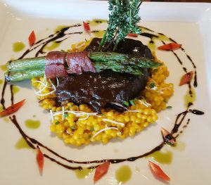 Short Ribs at The Winery Restaurant and Wine Bar