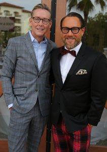 Barclay Butera and Ray Langhammer of Barclay Butera Interiors of Newport Beach served as the two Masters of Ceremonies.