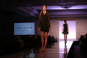 Ted Baker runway fashion show