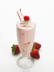 Ruby's strawberry shake