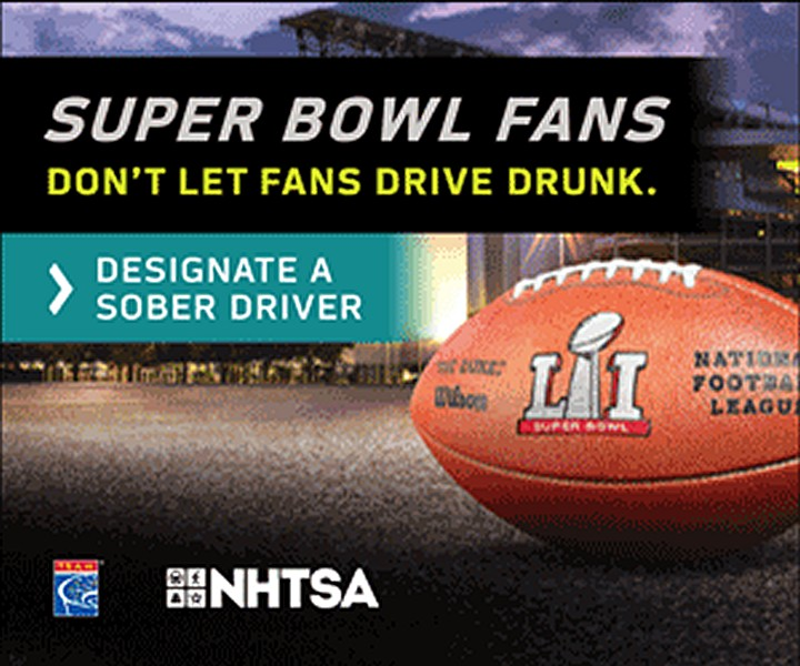 "Newport Beach Police Department partnered with the California Office of Traffic Safety for a ""Fans Don't Let Fans Drive Drunk"" campaign. — Photo courtesy of OTS ©"