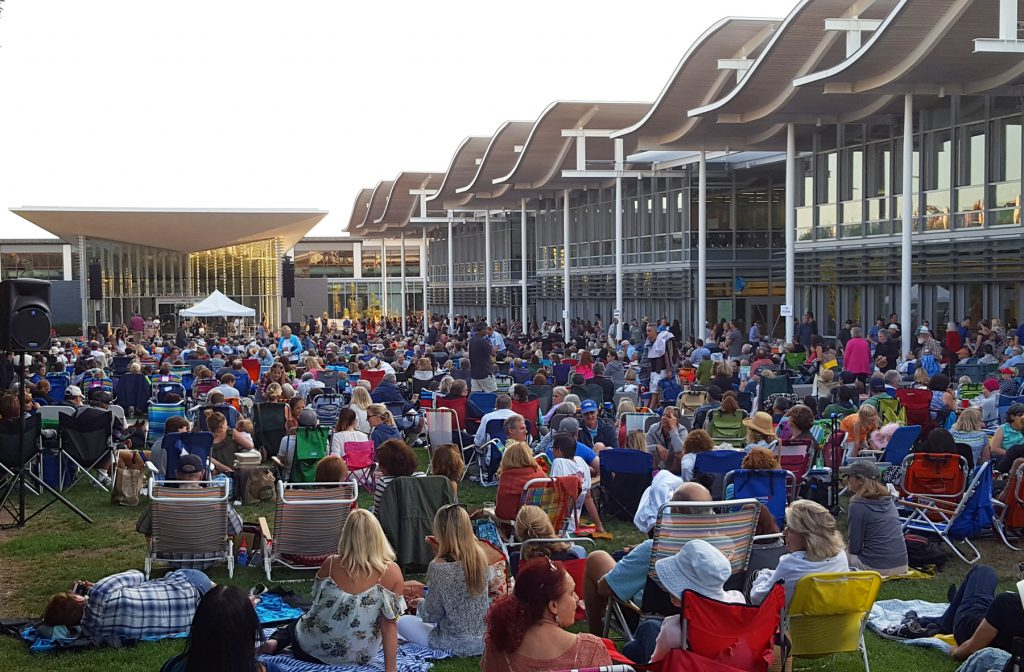 Concerts on the Green in 2016. — NB Indy file photo ©