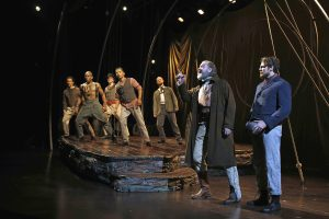Lookingglass Theatre Company's production of MOBY DICK. Photo