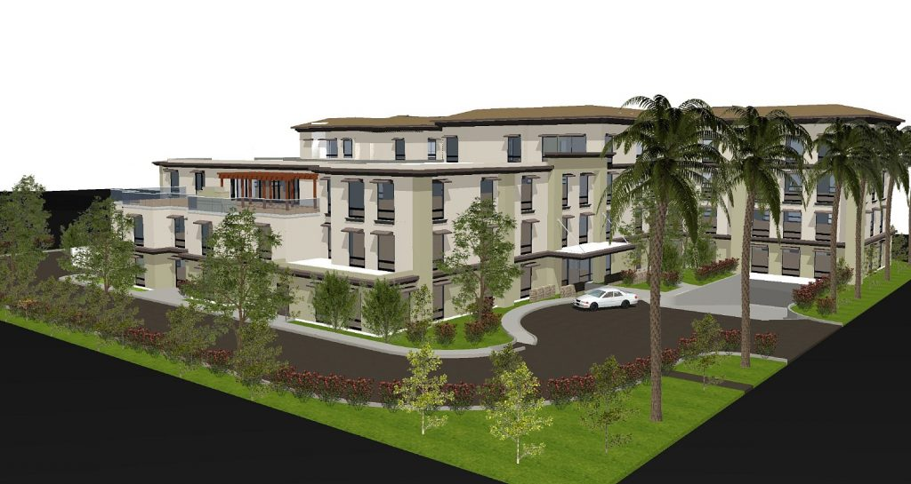 An artist rendering of Harbor Pointe Senior Living Fa — Photo courtesy Centerpoine Senior Living, LLC ©