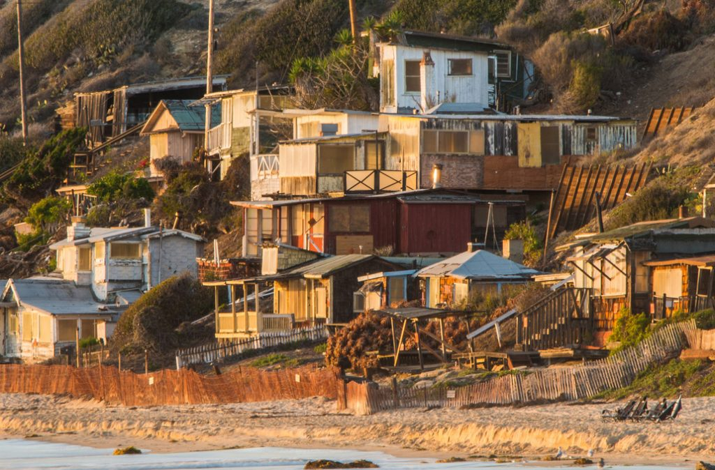 Some of the North Beach cottages scheduled to be restored. — Photo courtesy Crystal Cove Alliance ©