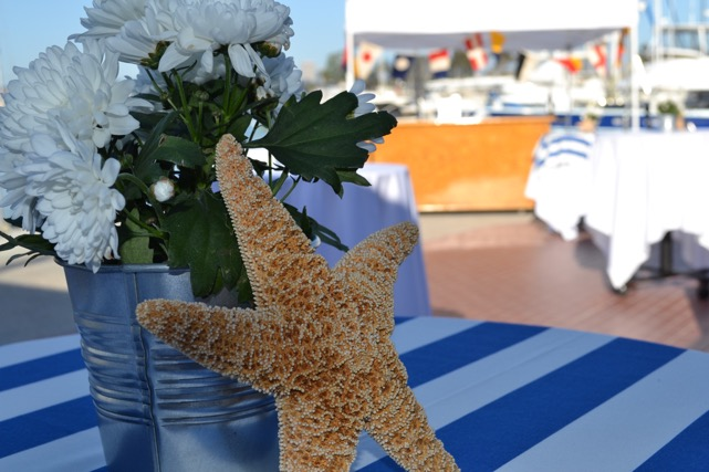 Decorations from a previous Hula for Moola event. — Photo courtesy Dena Baron , co-chair of Newport El School Foundation ©