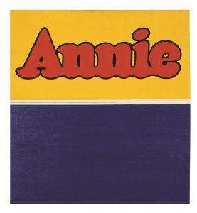Annie by Ruscha