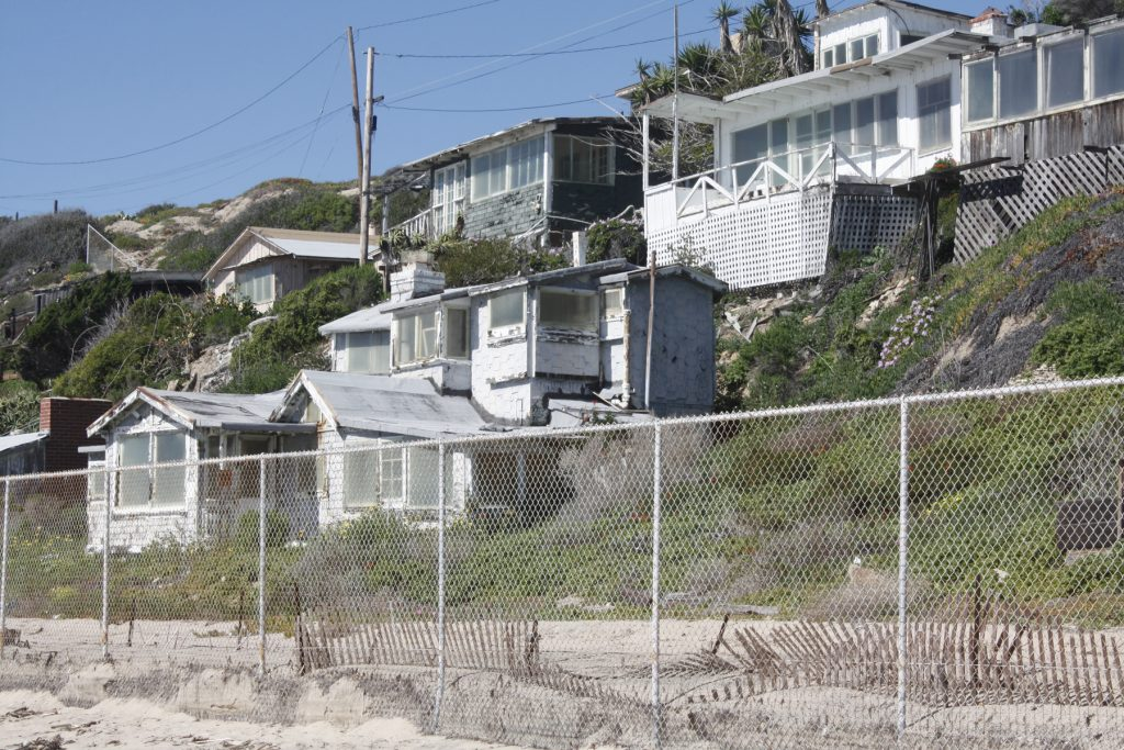 Renovation for the final 17 Crystal Cove Cottages was approved Wednesday by the California Coastal Commission. — Photo by Christopher Trela ©