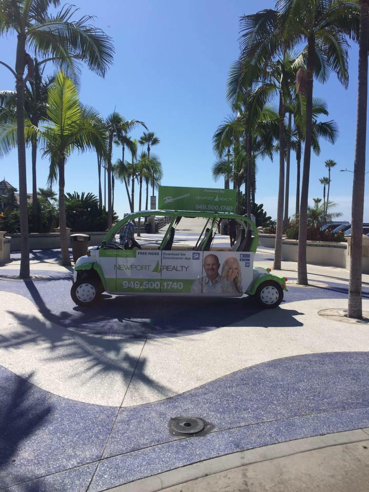 The Downtowner shuttle that covers the Balboa Peninsula. — Photo courtesy Newport Downtowner