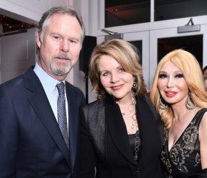 Anton Segerstrom, Renee Fleming, Elizabeth Segerstrom. ©Patrick McMullan, Photo - Jared Siskin/PMC