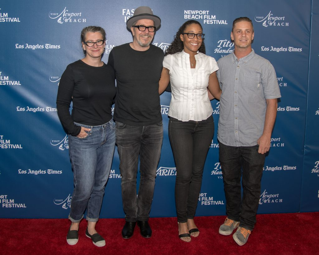 Gary Oldman (second from left) and the cast of Carnival of Dreams / photo by Charles Weinberg