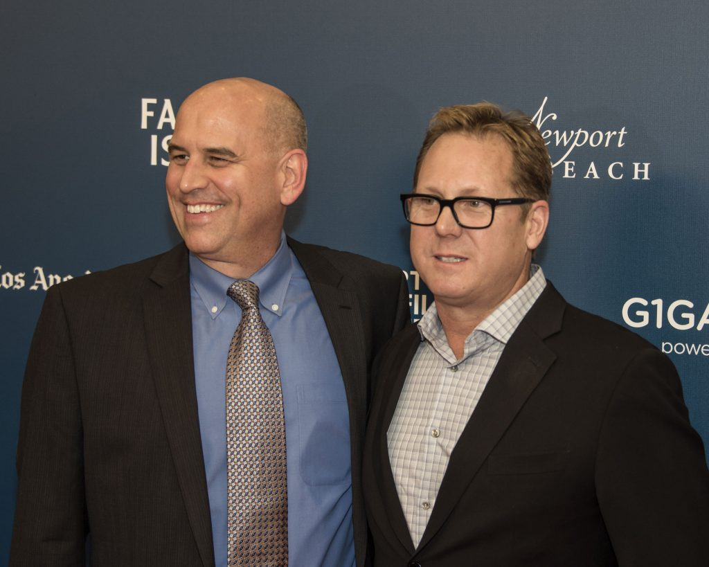 NB Film Fest Co-Founders Gregg Schwenk and Todd Quartararo / photo by Charles Weinberg