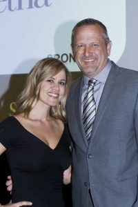 Event Chair Carrie Brock, Olive Crest CEO Donald Verleur