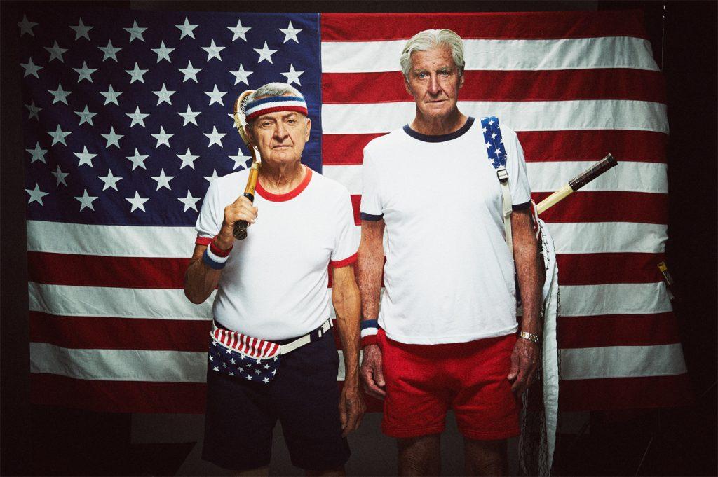 Ron Tonidandel and John Powless - image courtesy of GOLD BALLS