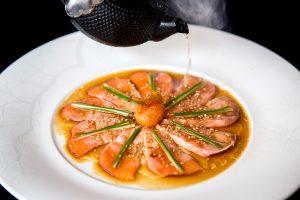 Salmon Sashimi New Style - Henry Hargreaves