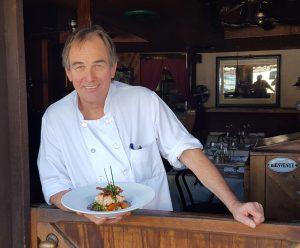 Basilic chef and owner Bernard Althaus