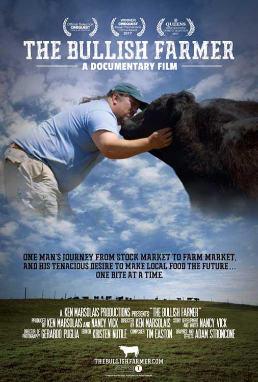bullish farmer poster