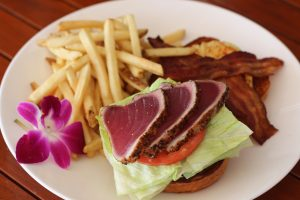 Seared Ahi sandwich