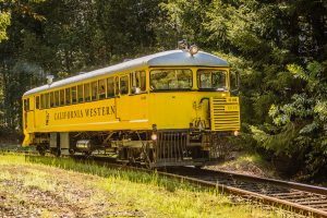 The Skunk Train / Courtesy of The Skunk Train