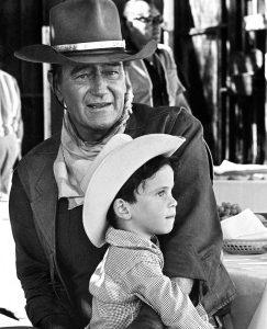 John Wayne with Ethan Wayne