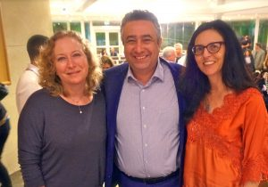 Deborah Siminou, Shadi Martini, Jackie Menter