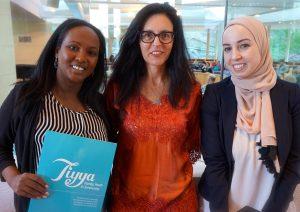 Meymuna Cattan-Hussein (Tiyya), Jackie Menter, Dania Alkhouli (A Country Called Syria)