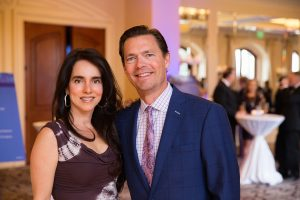 Flavia Eifrig and Charles Eifrig MD, Newport Beach residents and gala Patron Sponsors