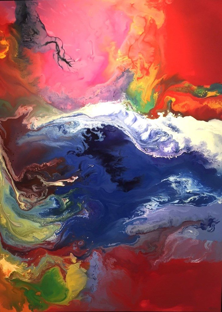 """Dick Marconi's """"Coral Reef"""" artwork.  — Photo courtesy Ethos Contemporary Art ©"""