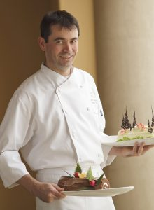 Pelican Hill Pastry Chef Jeff Lehuede