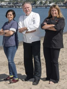 Newport local news off the menu local chefs show off for Cafe jardin newport beach