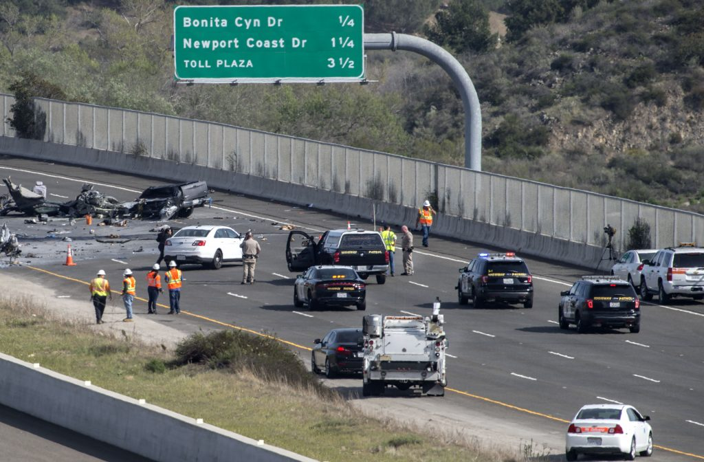 CalTrans Grader and Pickup Involved in Fatal Collision on 73
