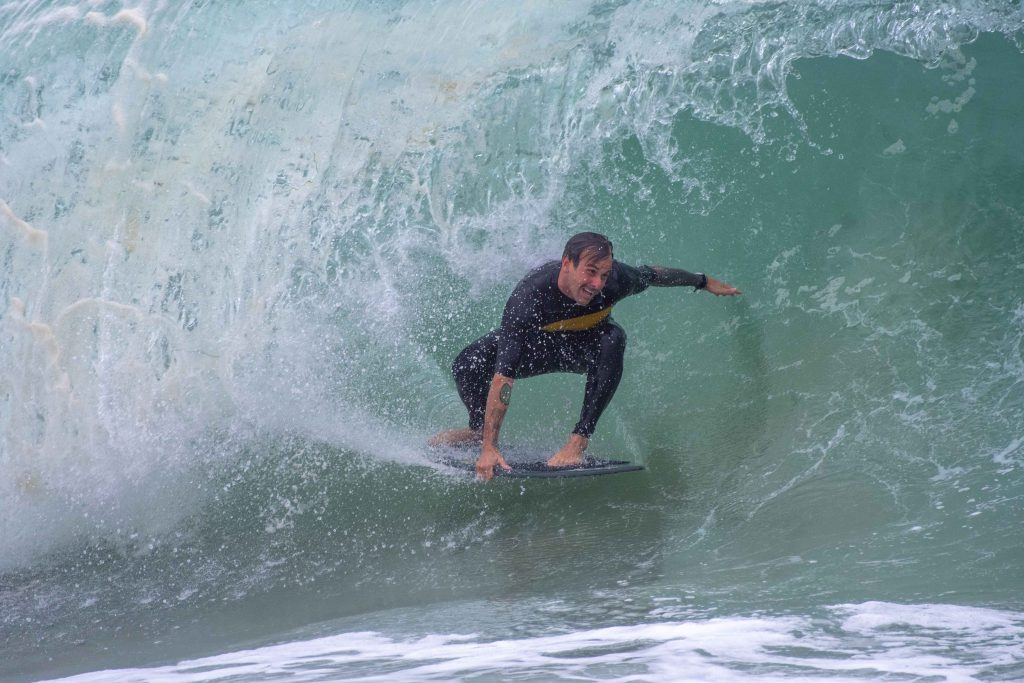 Surfing at the Wedge