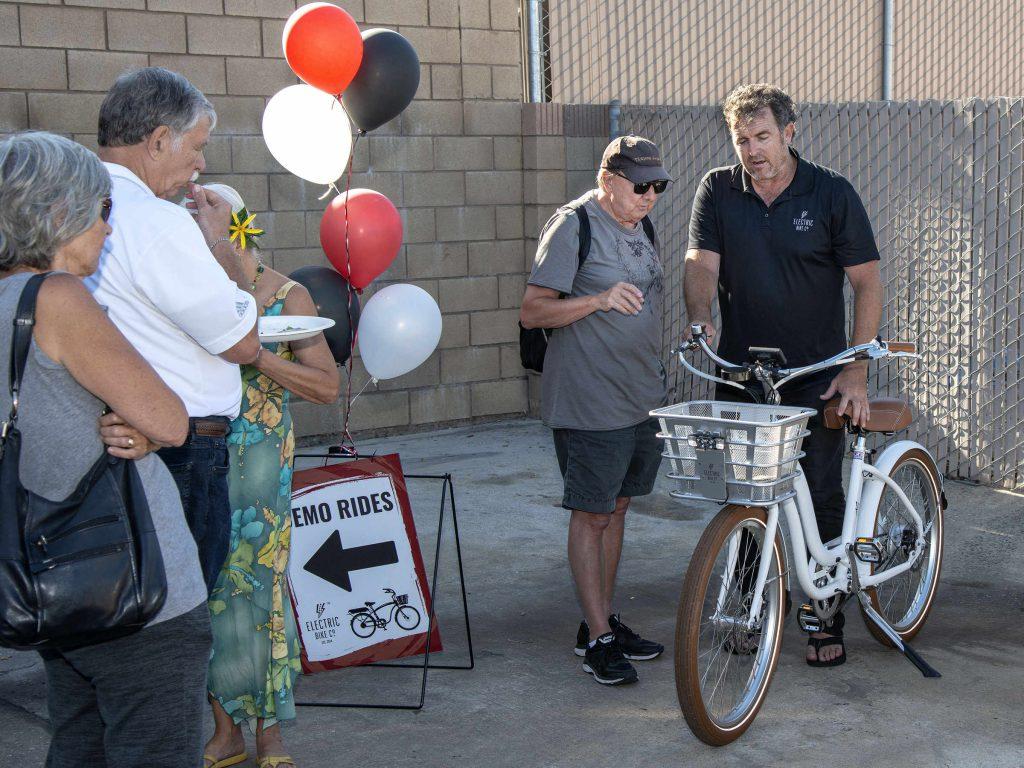Local E-Bike Start-Up Launch Party - Newport Beach News