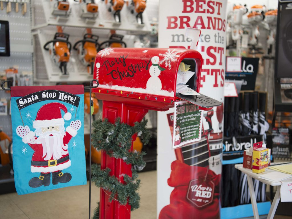 Aceweb local hardware store launches letters to santa program