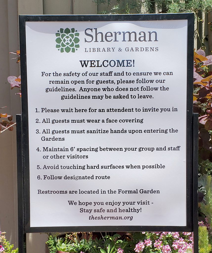 Cafe Jardin At Sherman Gardens Restaurant: Artscapes: An Artistic Afternoon At Sherman Library