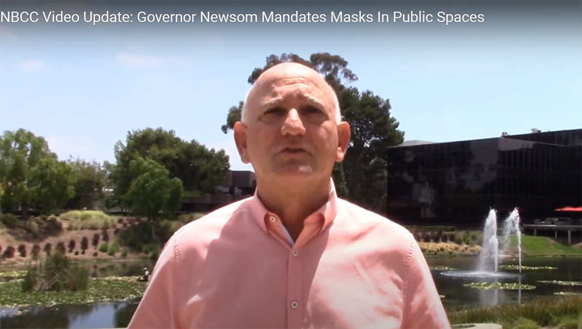 Governor Gavin Newsom Issues Statewide Mask Order